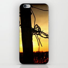 On The Border iPhone Skin