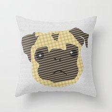 Pug! Throw Pillow