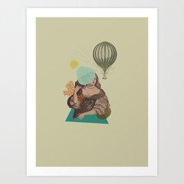 Everything matters Art Print