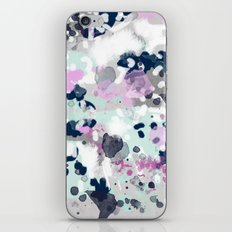 Elsie - modern abstract painting trendy home dorm college decor canvas art iPhone & iPod Skin
