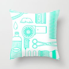Hair Throw Pillow