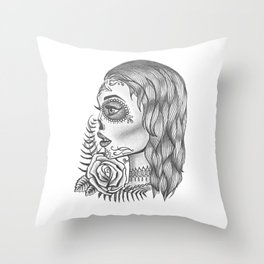 Departed Soul Throw Pillow