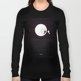 Moon alternative movie poster Long Sleeve T-shirt
