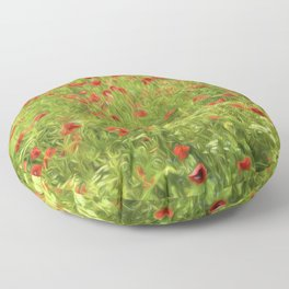 Poppyflower VII Floor Pillow