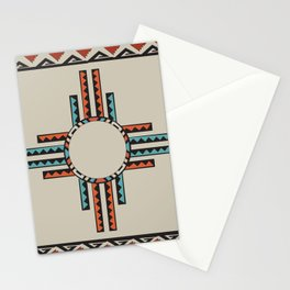 American Native Pattern No. 157 Stationery Cards
