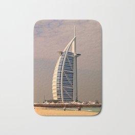Burj al Arab in Dubai Bath Mat
