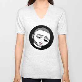 Azizonion Unisex V-Neck