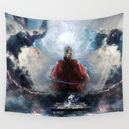 Uncontainable v2 Wall Tapestry