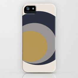 Inverted Circles iPhone Case