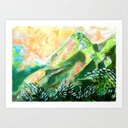 Mountain-like Art Print