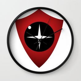 Red Sight Wall Clock