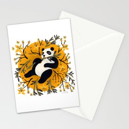 Panda Vibes – Marigold Palette Stationery Cards