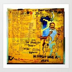 Hinne100 Art Print