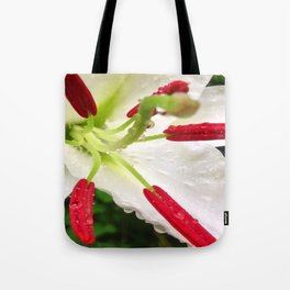 Mourning Lily Tote Bag