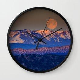 Mountain Moon Wall Clock