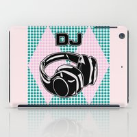 dj iPad Cases featuring DJ by Şemsa Bilge (Semsa Fashion)