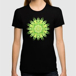 Curly Mandala in fresh lemon&green T-shirt