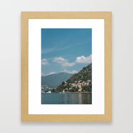 Lake Como (Italy) Framed Art Print