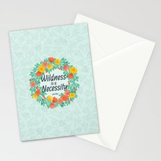 Floral Wildness Stationery Cards