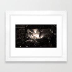 A Concert Framed Art Print