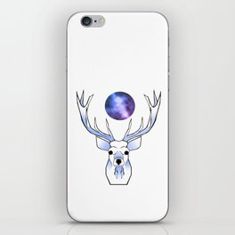 Galaxy Deer iPhone Skin