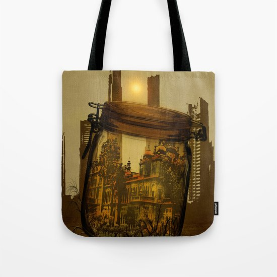 The last vintage city. Tote Bag