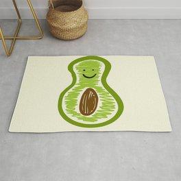 Smiling Avocado Food Rug