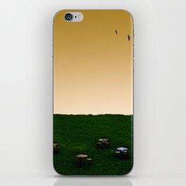 Everywhere and Nowhere iPhone Skin