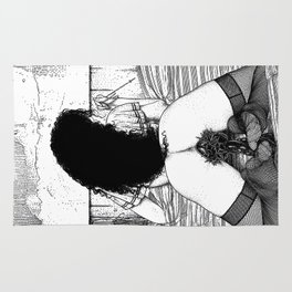 asc 773 - Le sacré coeur (Pray for me) Rug