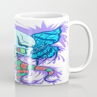 creativity Mugs featuring Creativity  by Edgar Huaracha