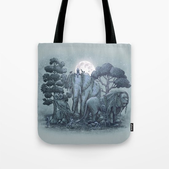 Midnight in the Stone Garden (colour option) Tote Bag