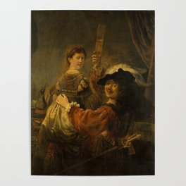 """Rembrandt Harmenszoon van Rijn, """"The Prodigal Son in the Brothel"""", 1637 Poster"""