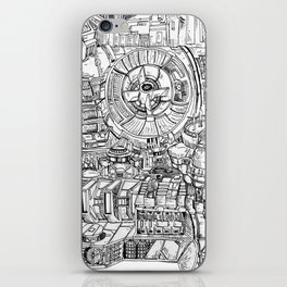 The Power Room iPhone Skin
