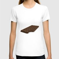 chocolate T-shirts featuring Chocolate by David Pires