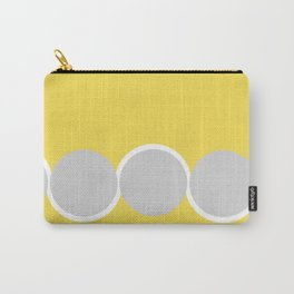Gray Circles in the Sun Carry-All Pouch