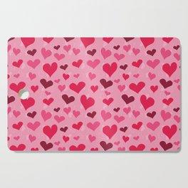 Valentine's Hearts Cutting Board