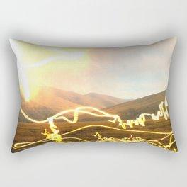 Crackle, Fizz, Pop by D. Porter Rectangular Pillow