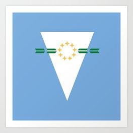 flag of Formosa (argentina) Art Print