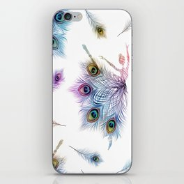Peacock Dancer iPhone Skin