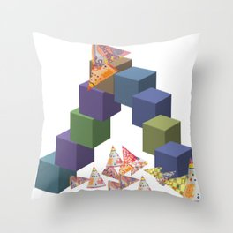 Game Room Throw Pillow