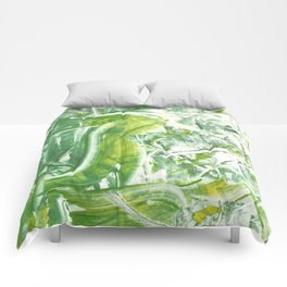 Swirled Maple Monoprint Comforters