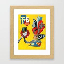 To Usher In a New Era Framed Art Print