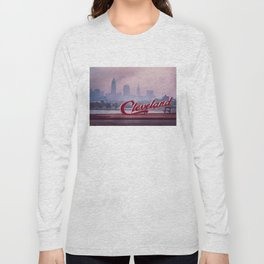 Homesick - Cleveland Skyline Long Sleeve T-shirt