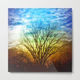 Heavenly Roots Metal Print