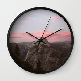 Sunset dome Wall Clock