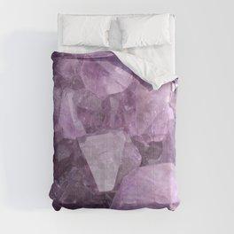 Soft Violet Amethyst Comforters