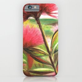 Pohutukawa Flower iPhone Case