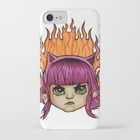 league of legends iPhone & iPod Cases featuring League of Legends Annie  by Danonymous84