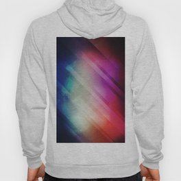 Vivid - Colorful Geometric Mountains Texture Pattern Hoody