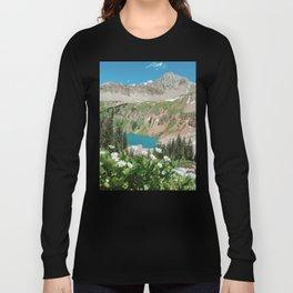 The Blue Lakes of Colorado Long Sleeve T-shirt